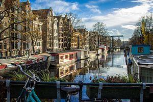 Brouwersgracht Amsterdam, Herfst von Lotte Klous