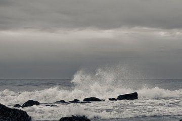 Een ruige zee