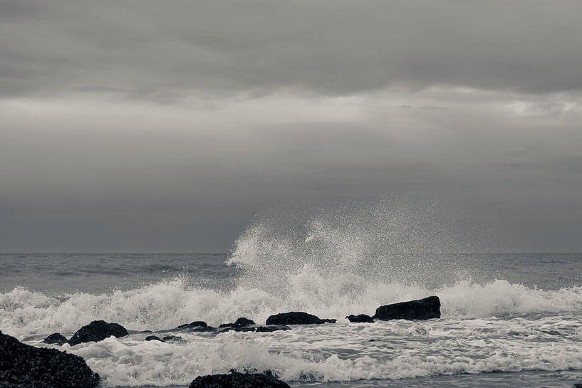 Een ruige zee van Rik Verslype