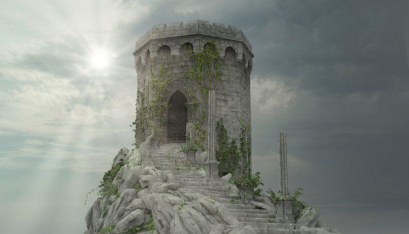 Mystical Tower 01 van H.m. Soetens