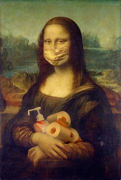 Antivirus Lisa - Kunst in de tijd van Corona van Atelier Liesjes