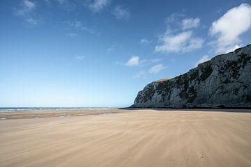 Strand van Cap Blanc Nez van Mickéle Godderis
