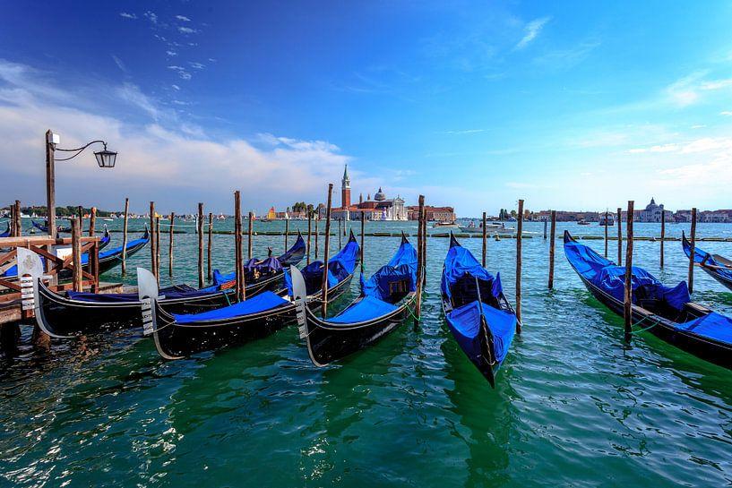 Gondels van Venetië van Roy Poots