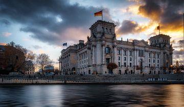 Reichstag Berlijn van Mario Calma