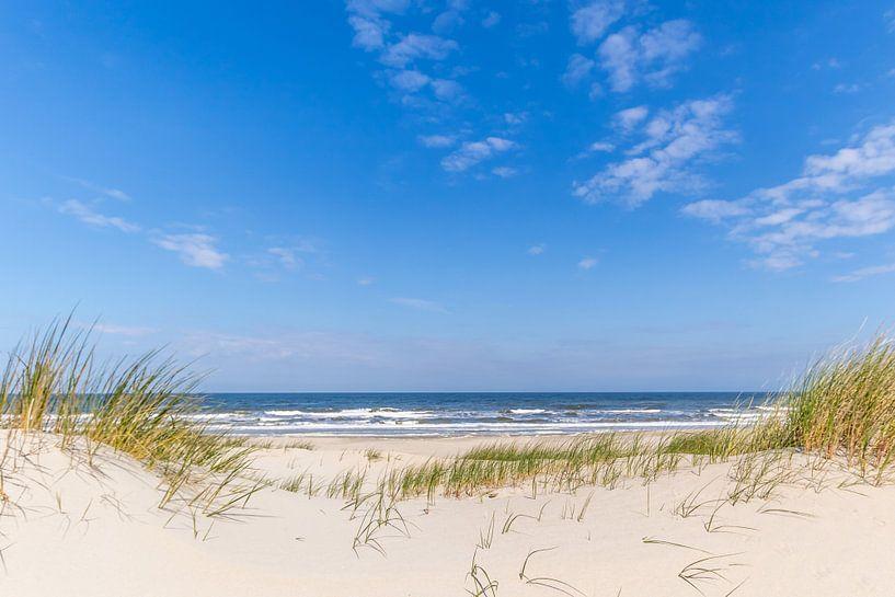 Strand Texel bij De Koog van Leon Lubse