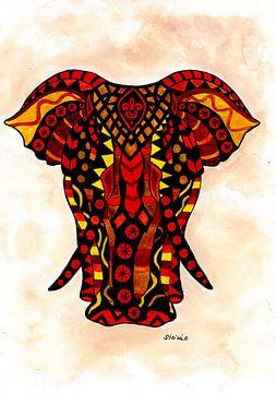 Mandala Elefant