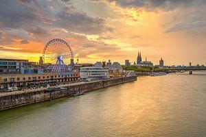 Skyline von Köln von Michael Valjak