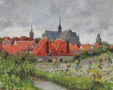Alte Stadt von Antonije Lazovic