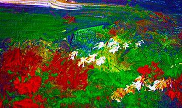 Tuin in de herfst van M.A. Ziehr