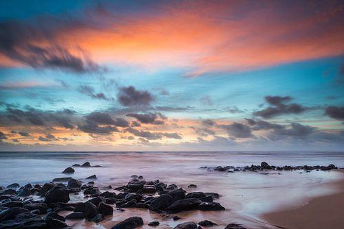 Zonsopkomst Kauai, Hawaii van Laura Vink