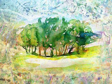 Intiem landschap van ART Eva Maria