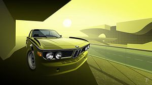 BMW 3,0 CSL (E9) van Thomas Bigwood