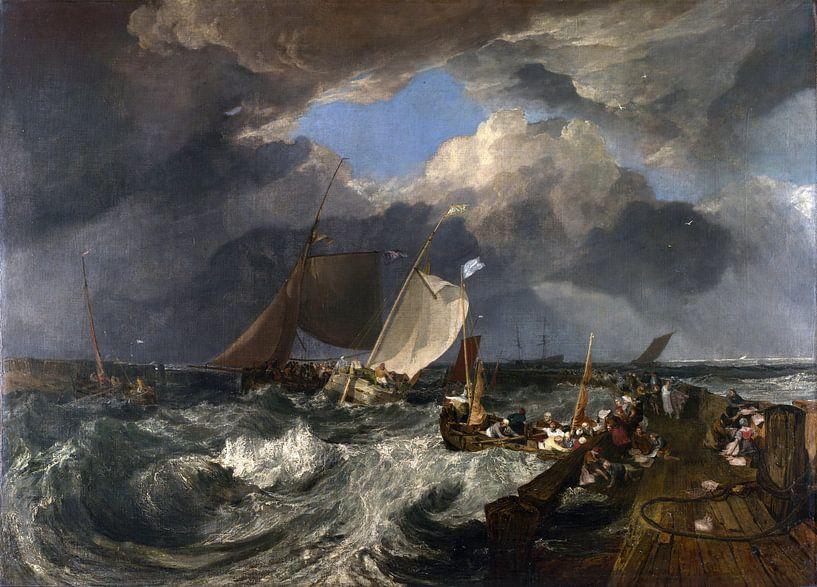 Calais Pier, Joseph Mallord William Turner von Meesterlijcke Meesters