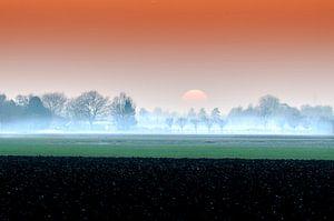 Winterzon in Nederland van