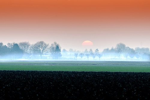 Winterzon in Nederland