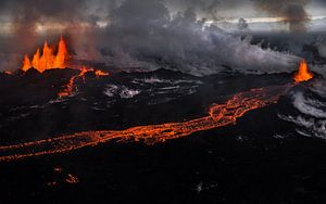 Holuhraun/Bardarbunga Vulkanausbruch (Island) von Lukas Gawenda