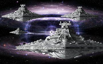 Star Wars Destroyer van Natasja Tollenaar