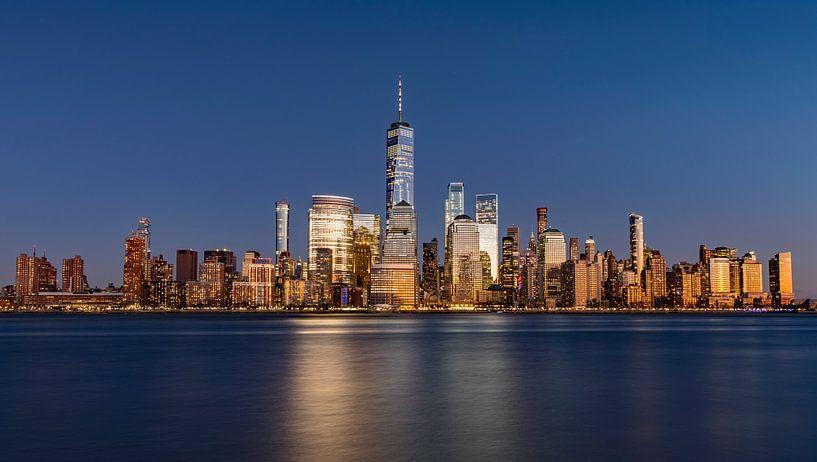 New York Panorama Zilver van Adelheid Smitt