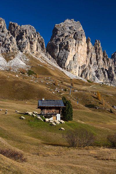 Herbst in den Dolomiten von Rudolf Brandstätter