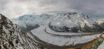 Gornergletscher bei Zermatt Schweiz am Morgen von Martin Steiner