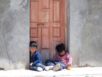 Boliviaanse Kinderen van Iris Timmerman