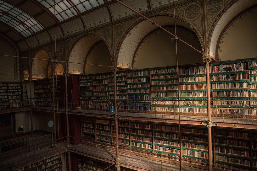 Rijksmuseum Amsterdam | Bibliothek Amsterdam | Kunstdruck von Mascha Boot
