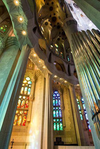 Sagrada Familia, Barcelona van Johan van Venrooy
