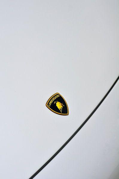 Lamborghini-embleem met de beroemde stier van Sjoerd van der Wal