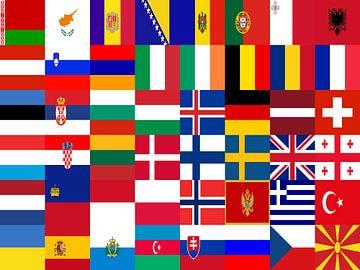 Fahnen Europas 1: von Frans Blok