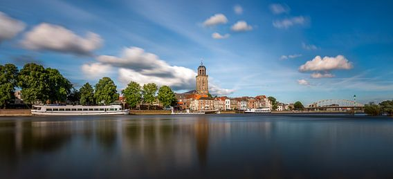 Deventer skyline panorama