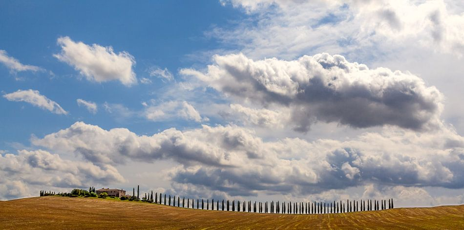 Toscaanse luchten van Teun Ruijters