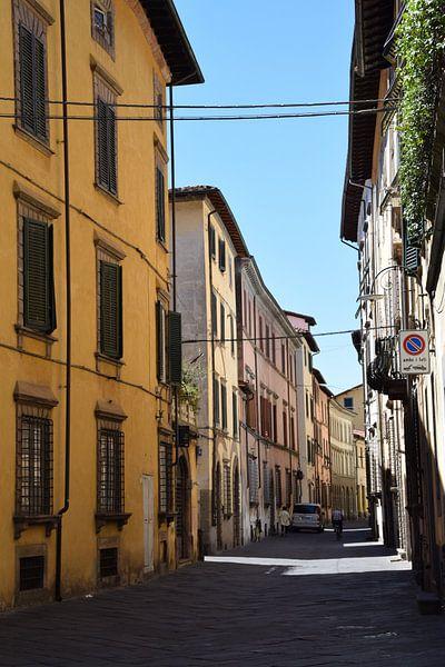 Toscane Italië Lucca Binnenstad van Hendrik-Jan Kornelis