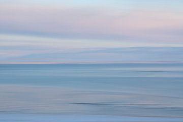 Een panning aan de kust van IJsland van Danny Budts
