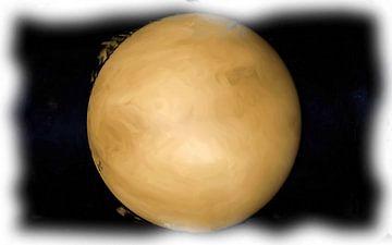 Atmosfeer Venus van Maurice Dawson