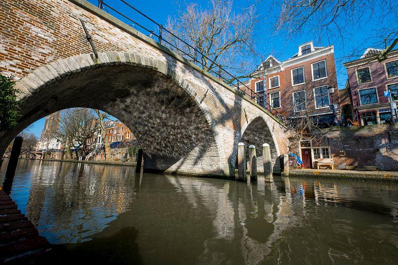 Weesbrug in Utrecht van Joris Louwes
