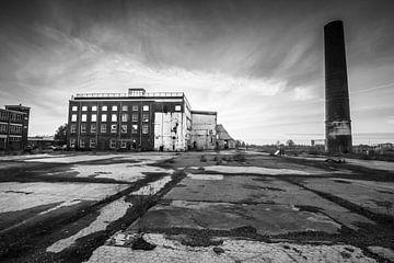 Oude suikerfabriek Groningen van Gert Brink