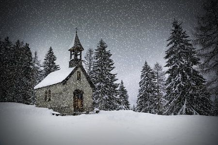 Bavarian Winter's Tale Anna Chapel