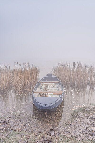 Het kleine blauwe bootje van Albert Lamme