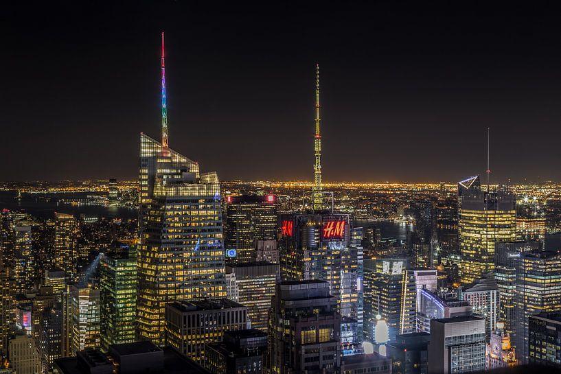 Downtown Manhattan New York van Rene Ladenius