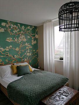 Kundenfoto: Mandelblüte grün - Vincent van Gogh