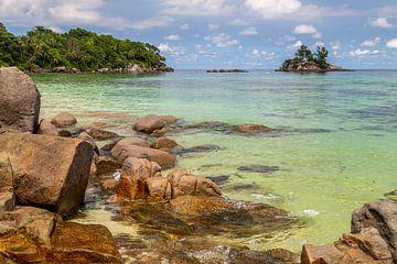 Traumstrand Anse Royale auf der Seychellen Insel Mahé von Reiner Conrad