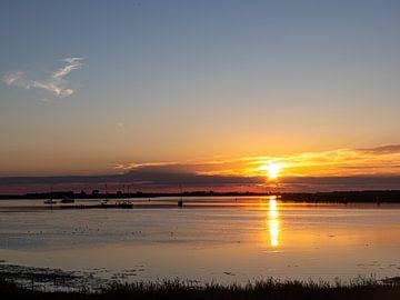 Sonnenuntergang Frühlingsfeder von Jacques Beukers