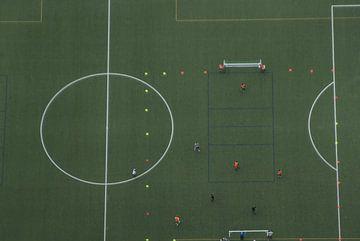 De voetbaltraining van Norbert Sülzner