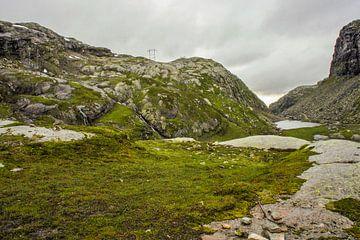 Berglandschap Noorwegen van Remco de Zwijger