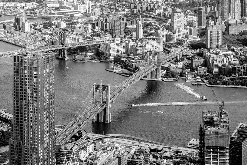 Brooklyn Bridge van Iwan Bronkhorst