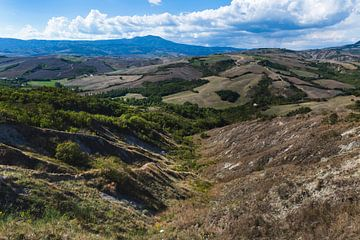 De heuvels van Toscane sur