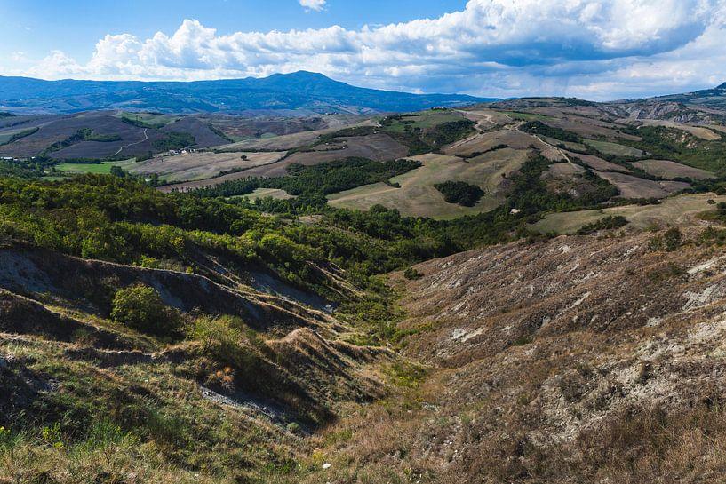 De heuvels van Toscane sur Steven Dijkshoorn