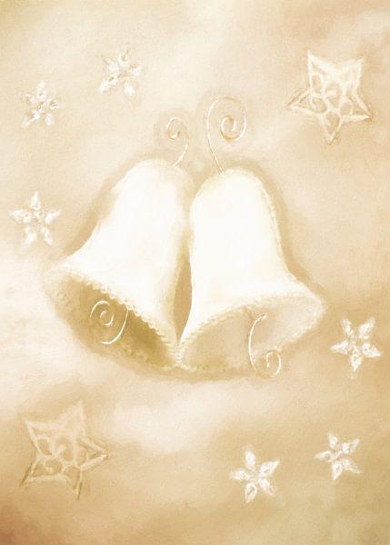 Weihnachtsglocken - Christmas Bells van Dagmar Marina