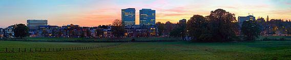 Panorama Arnhem gezien vanaf Sonsbeek