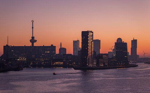 De zonsopkomst in Rotterdam van MS Fotografie